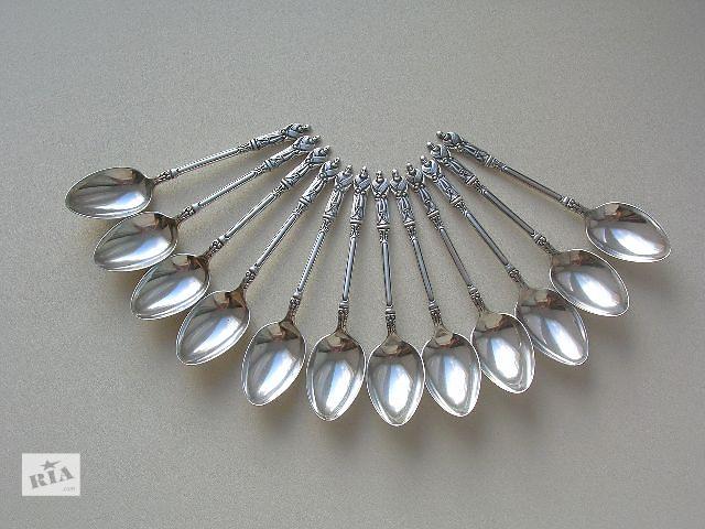 купить бу Апостольские ложки 1913 год. Серебро 925 пробы (sterling silver). Англия в Киеве