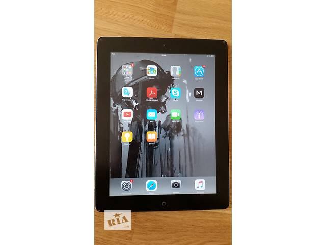 купить бу Apple iPad 2 16GB with Wi-Fi + 3G (Verizon, Black) в идеальном состоян в Киеве