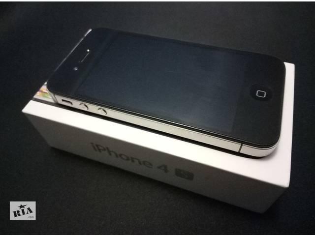 бу Apple iPhone 4s (black) 16gb Neverlock в Харькове