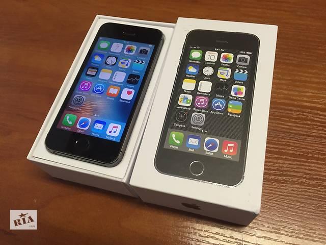 Apple iPhone 5s 16ГБ Neverlock / ПОЛНЫЙ КОМПЛЕКТ + Гарантия- объявление о продаже  в Киеве