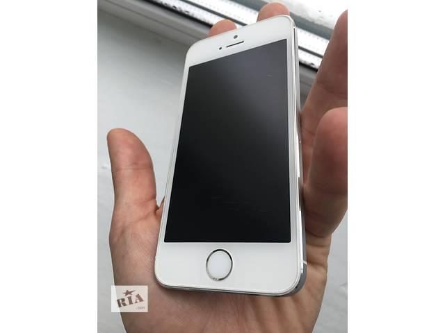 продам Apple iPhone 5s 16gb Silver White NeverLock!! ОТЛИЧНЫЙ!! +Плёнка бу в Нежине