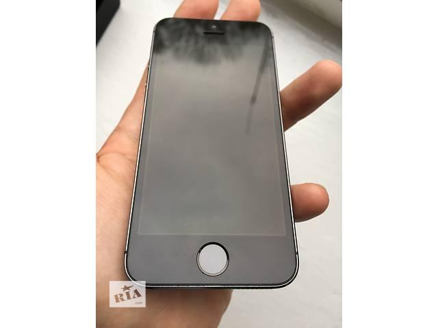 купить бу Apple iphone 5s 16gb space gray neverlock!! отличный!! в Нежине
