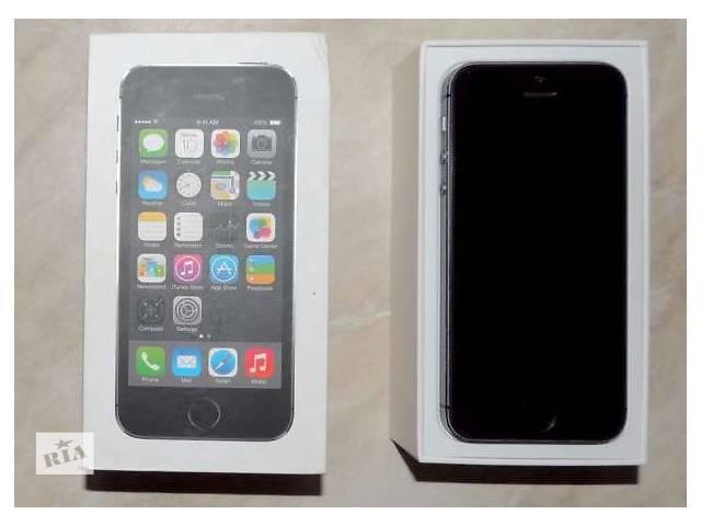 бу Apple iphone 5s 32gb neverlock space gray в Днепре (Днепропетровск)