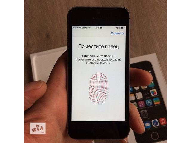 Apple IPhone 5s оригинал неверлок. Чек, гарантия, полный комплект- объявление о продаже  в Киеве