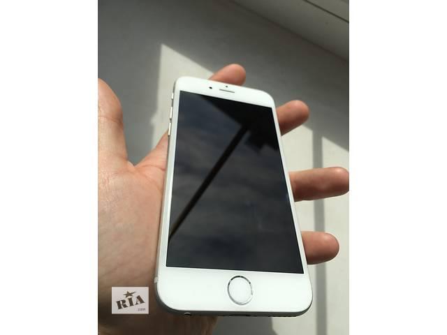 купить бу Apple iPhone 6 64gb Silver (White) NeverLock!! ИДЕАЛ!! в Нежине