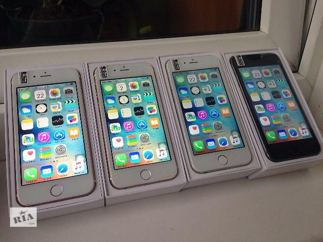 """бу Apple iPhone 6S 4.7"""" 4G! GPS! 16gb! 8mp! Новый товар! Высокое качество! Без Предоплат! ЗВОНИ И ПОЛУЧИ ПОДАРОК! Копия в Киеве"""