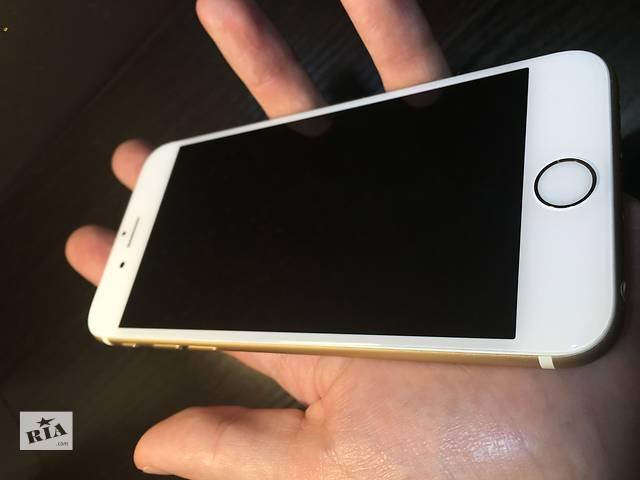 купить бу Apple iPhone 6s 64gb Gold NeverLock!! ИДЕАЛ!! в Нежине