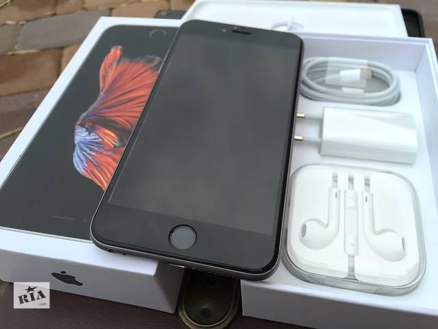 продам Apple iPhone 6s Plus 128gb Space Gray NeverLock!! как НОВЫЙ!! +Стекло!! бу в Нежине