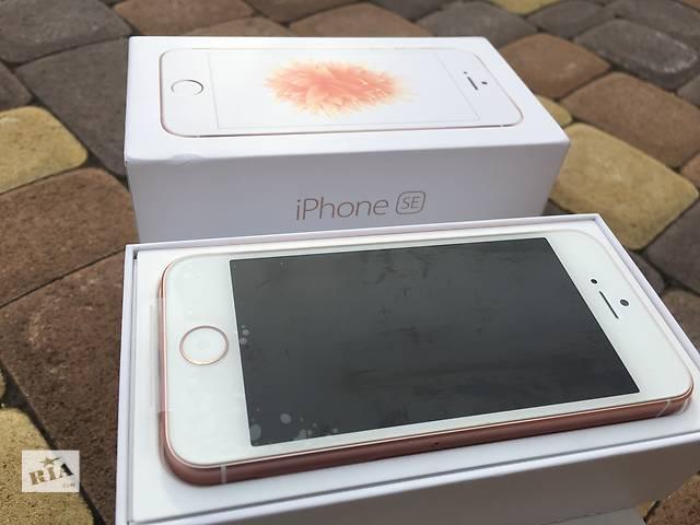 Apple iPhone SE 16gb Rose Gold NeverLock!! НОВЫЙ!! +Оригинальный комплект!!- объявление о продаже  в Нежине