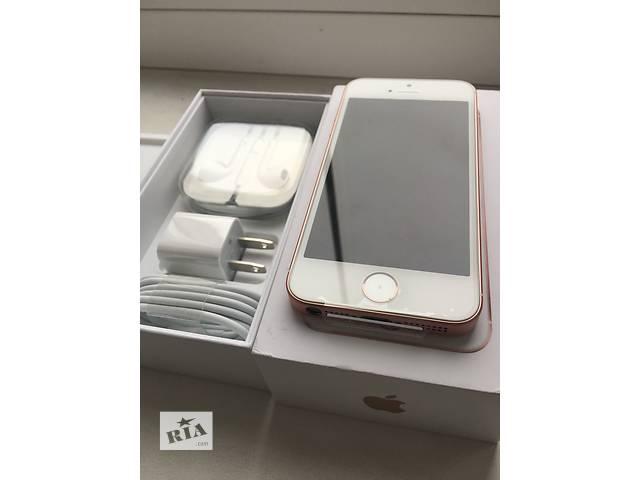 Apple iphone se 16gb rose gold neverlock!! новый!! +полный оригинальный комплект!!- объявление о продаже  в Нежине