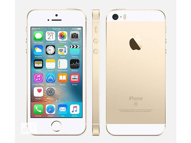купить бу  apple iphone se gold в Львове