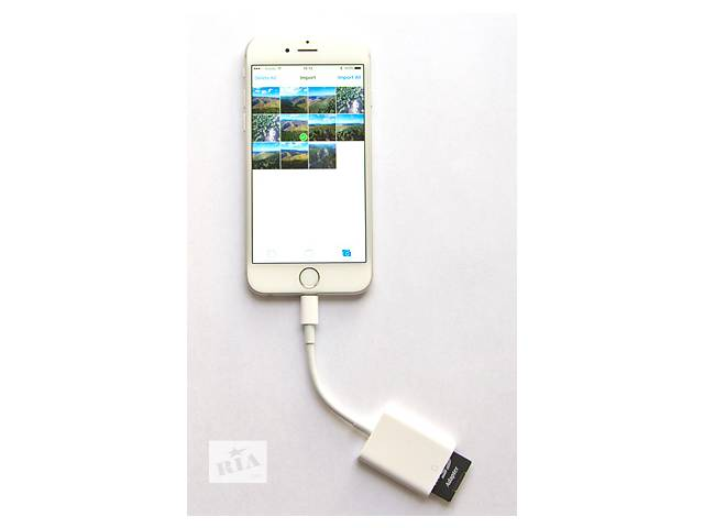 купить бу Apple lightning to Card Reader for iPhone\iPad кардридер SD card в Харькове