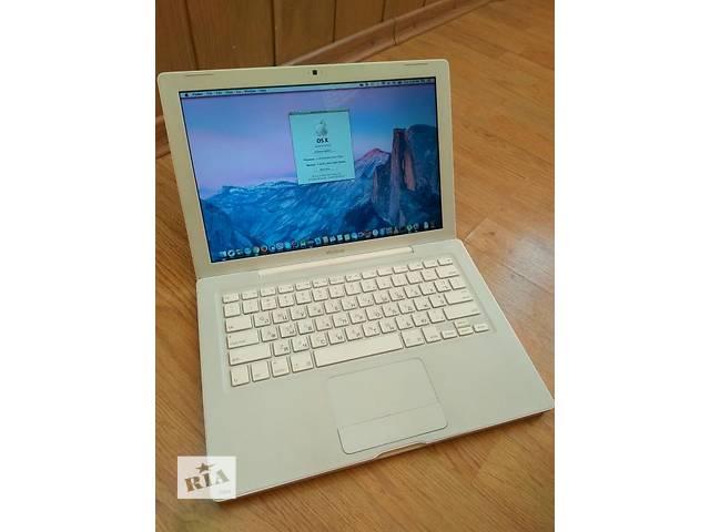 купить бу Apple MacBook white SSD 128gb. C2d 2.16 4gb в Харькове