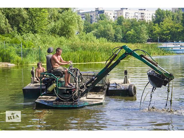 продам Аренда плавающего экскаватора бу  в Украине