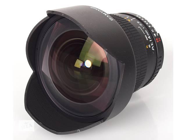 бу Аренда (прокат) Объектив Samyang 14mm f2.8 Canon в Киеве