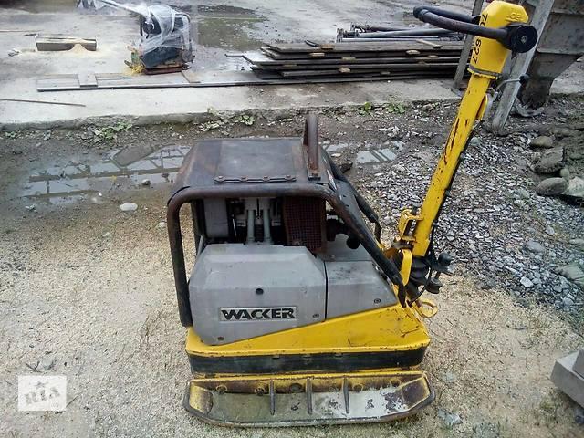 Аренда / прокат виброплиты виброплита трамбовка Wacker DPU 6055 476 кг- объявление о продаже  в Волынской области