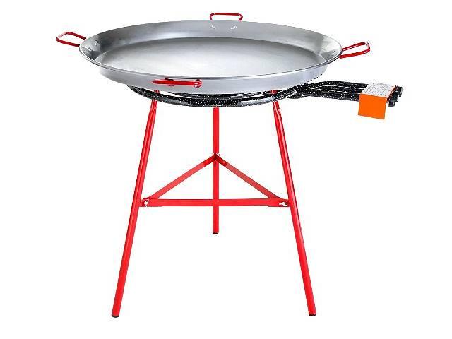 купить бу Аренда сковороды для паэльи. Прокат больших сковородок паэльера: из нержавейки на газу и электрических в Киеве