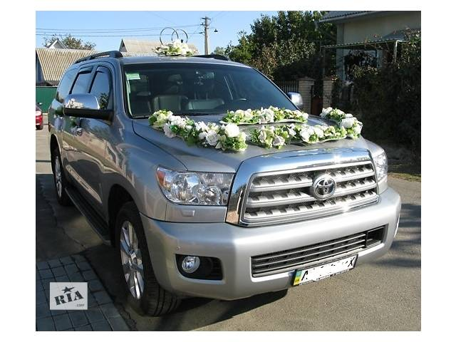 Аренда Toyota Sequoia Platinum, джипа, внедорожника.- объявление о продаже   в Украине