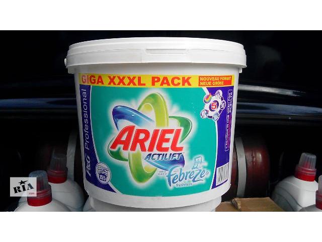 продам Стиральный порошок ARIEL Actilift Febreze 10,4кг. Германия бу в Сумах