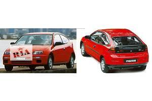 Новые Крылья задние Mazda 323