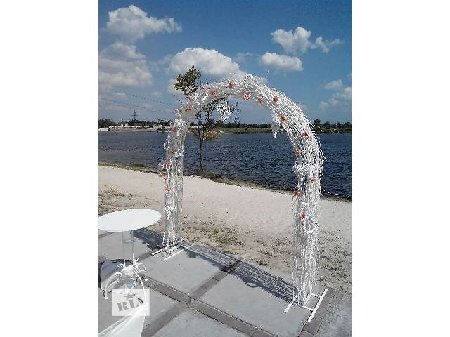 бу Арка из цветов, венчальная арка на прокат киев в Киеве