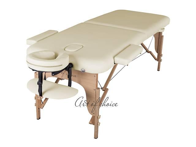 Акція Знижка 7% якісний буковий масажний стіл MIA. Складаний, 2-х секційний. Доставка безкоштовно. Гарантія 2 роки- объявление о продаже  в Києві