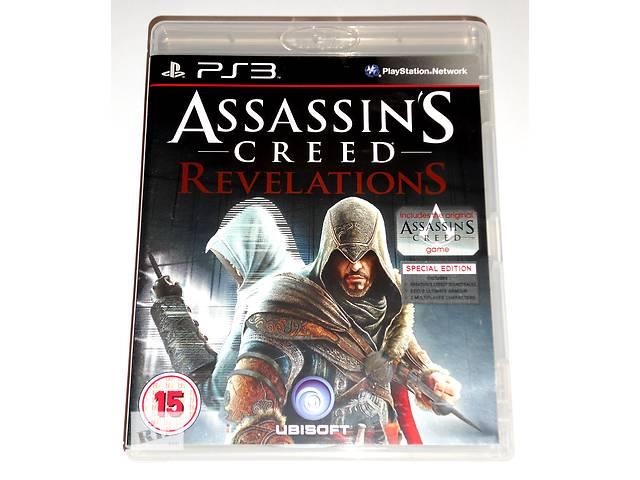 купить бу Assassins Creed Revelations Special Edition для PS3 диск, на русском в Запорожье
