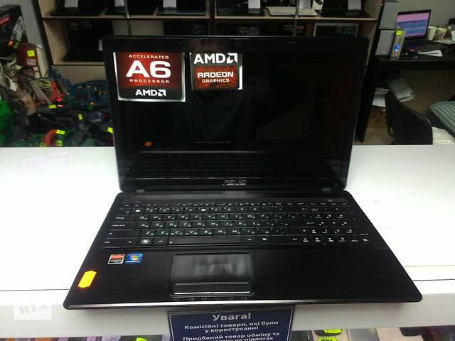 продам Asus 15.6 a6 4 ядра, 4 озу 500 жесткий диск, мегоигровой до 3 гб бу в Виннице