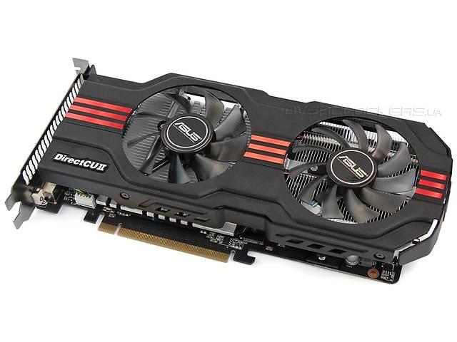 купить бу ASUS GeForce GTX 560 Ti DirectCU II TOP в Запорожье