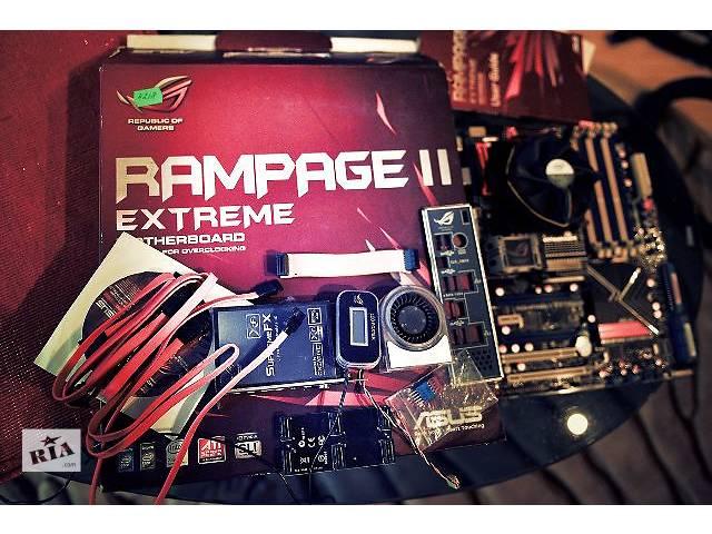 продам Asus X58 Rampage II Extreme LGA1366 +Intel Core i7-950 3.06GHz бу в Киеве
