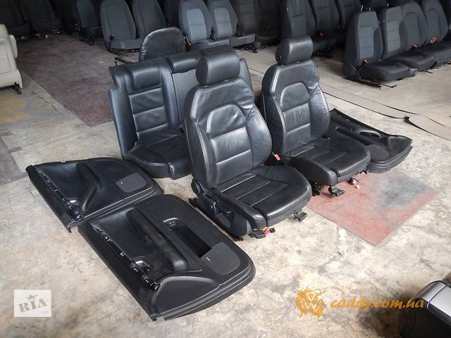 купить бу Audi A4 S-line - кожаный салон в Киеве