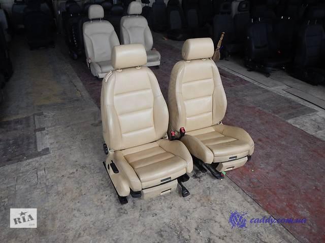 Audi A4 S-line - передние кожаные откидные сиденья- объявление о продаже  в Киеве