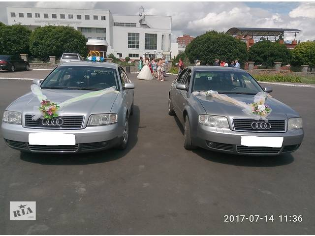Audi A6 для свадьбы, праздников, поездок на море, по Украине- объявление о продаже  в Сумах
