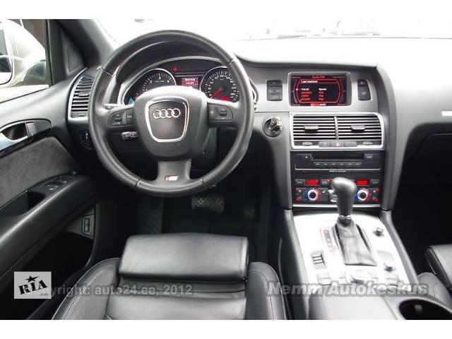 Ауди Q7 Q7SLine салон кожаный Компоненты кузова Сиденье карты торпедо безопасность Легковой Audi Q7- объявление о продаже  в Киеве