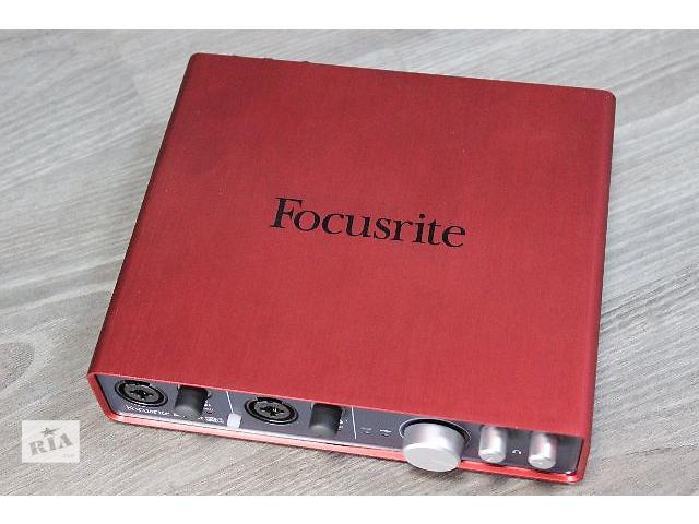 купить бу аудиокарта Focusrite Scarlett 6i6 в Киеве