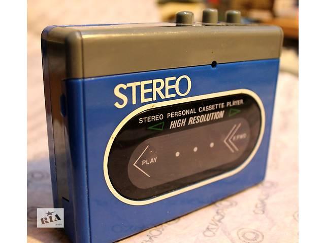 купить бу Аудиоплеер кассетный стерео 90-х годов в Кременчуге