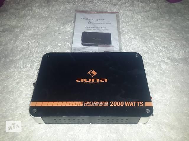 продам Auna dark star 2000 2-channel car amplifier 200w rms бу в Городке (Львовской обл.)