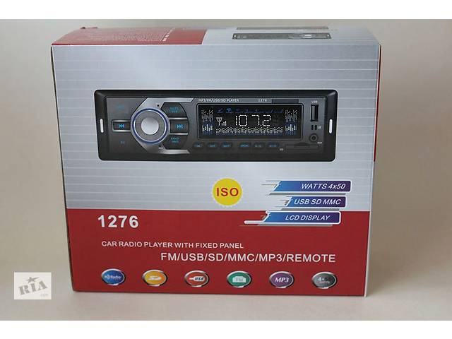 купить бу Автомагнитола 1276 ISO USB MP3 магнитола  Автомагнитола 1276 ISO USB/MP3 - это отличный аналог дорогих магнитол, с хорош в Днепре (Днепропетровск)