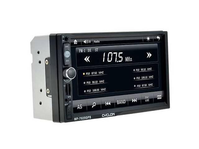 бу Автомагнитола CYCLON - 7025 GPS 2 Гарантия 1 год, лучше Pioneer 7018 в Киеве