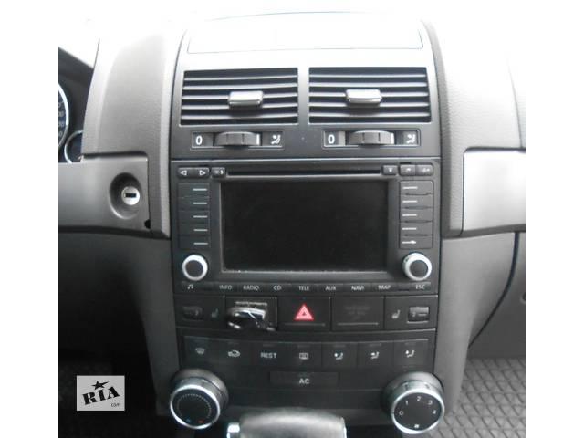 купить бу Автомагнитола Магнитола Приемник Volkswagen Touareg Туарег 2002 - 2006 в Ровно