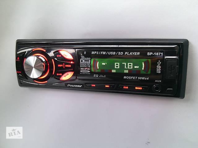 купить бу Автомагнитола Pioneer SP-1871(съемная панель) SD, USB, AUX в Мукачево