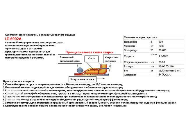 бу автомат для сварки пвх тентовых и банерных тканей в Одессе