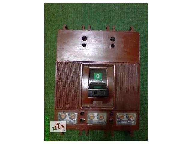 Автоматический выключатель АК 50К,А 37-86 БР 250а, ELPROM-EAZ А-1 100а,А-2 250а , А-3  500а,АК 63-3М ГУ 3 ~500в 10а- объявление о продаже  в Запорожье