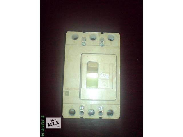 купить бу Автоматический выключатель ВА 5735 100а, 160а,125а,A-3161-40а в Запорожье