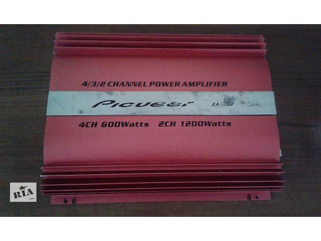 купить бу Автомобільний підсилювач Pioneer XA - 3880 та сабвуфер. в Борисполе