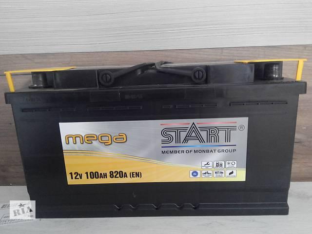 продам Автомобильный аккумулятор Mega Start 100Ah R+ 820A бу в Киеве