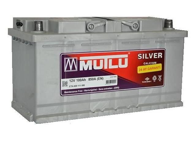 купить бу Автомобильный аккумулятор Mutlu Silver Calcium 6СТ-100Ah R+ 850A (EN) в Киеве