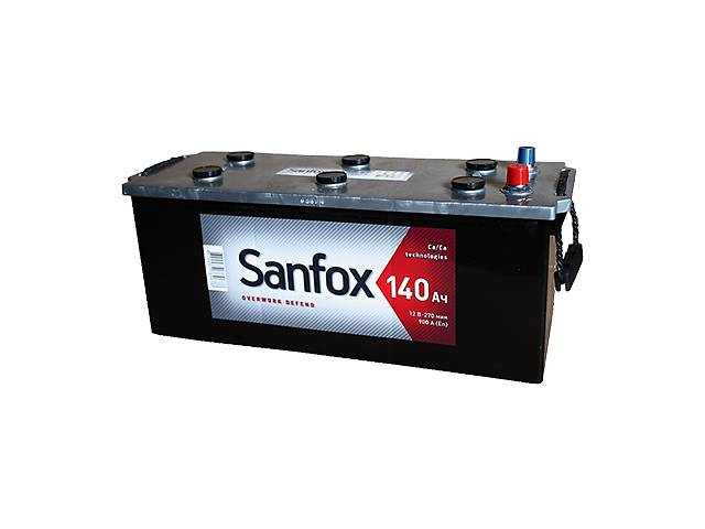 Автомобильный аккумулятор sanfox 140ah l+ 900a (en)- объявление о продаже  в Киеве