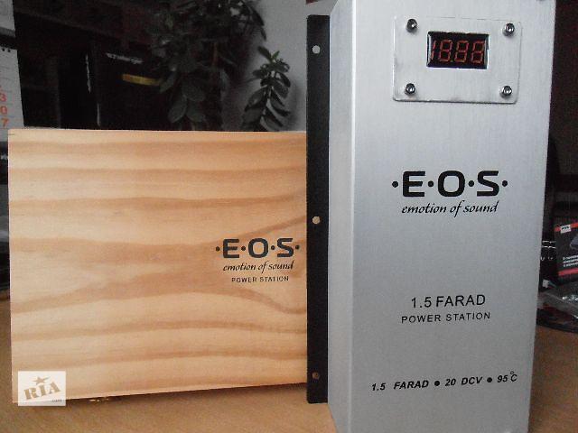 купить бу Автомобильный конденсатор E.O.S. 1,5 FARAD в Запорожье