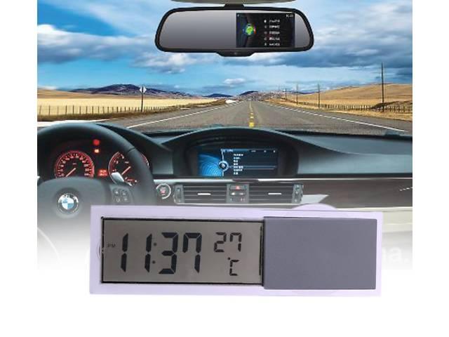 бу Автомобильные цифровые часы с градусником! в Львове